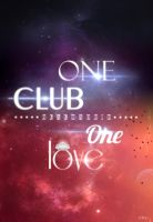 One Club One Love Real Madrid FC by vitalyvelygo
