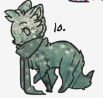 Selling a character I bought 1 POINT by KandiTehCat
