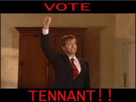 Vote Tennant by fallowbuck