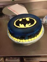 Bat Man Cake by Crosseyed-Cupcake