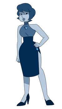 Benitoite by Unevenminded