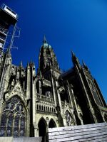 Bayeux Cathedral by Gothic-batgirl