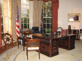 Oval Office by ItsAllStock