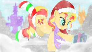 A Sunset Shimmer Christmas by ClassedApex