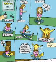 PikaGirl TF :: SEQUENCE by pirulee