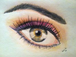 Beautiful Eye by sophicardia