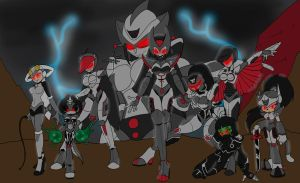 COM The Army of Lady Ultron by ChaosCroc