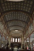 Interior of cathedral St Louis to Fort De France by A1Z2E3R