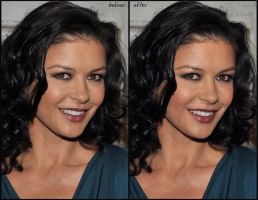 Catherine Zeta-Jones by ArtSlash13