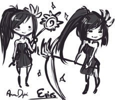 Chibi Vindictus Evie by AnneDyari