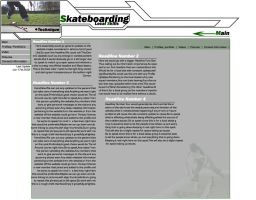 Skateboard Interface by diverseconcepts