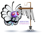 Windchimer Butterfree by TheGalleryOfEve