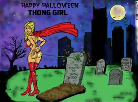 Thong Girl Halloween Copy by gecko200