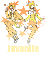 Rin and Len Juvenile V2 by bloom987654322