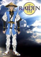 Lord Raiden - MK1 by RazorsEdge701