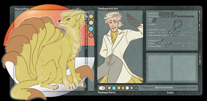 PMA: The Baron [Ninetales] by biscuitcrumbs