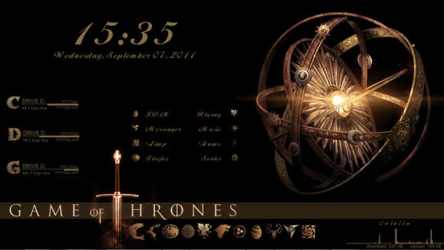 rainmeter-game of thrones by clamys