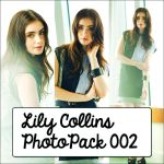 Lily Collins PhotoPack 002 by PhotoPacksEveryWhere
