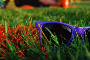 Ray-Ban Wayfarer Sunset 03 by punchedtoast