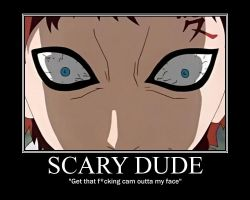 Scary gaara by SamanthaLi