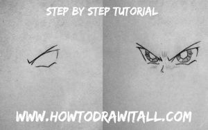 How To Draw Manga Eyes by HowToDrawItAll
