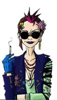 Tank girl by DorianInExcelsis