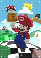 Super Mario Bros. 3 :: Mushroom for Mario by stinawo
