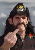 Lemmy from Motorhead by Steveroberts