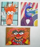 Muppet-fan art Artist Trading Cards by Dreamerzina