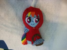 RAINBOW DASH PonyGirls Want to Have Fun ORNAMENT by grandmoonma