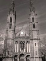 Cathedral Black and White by SweetButtermilk