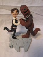 A Man and his Wookie by Rook-XIII