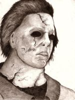 Michael Myers 2007. by planedreamer