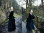 Victorian polonaise by sombrefeline