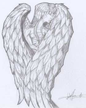 Young Angel by LycanArtist82