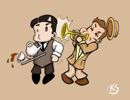 Jeeves and Wooster by sweetvillain