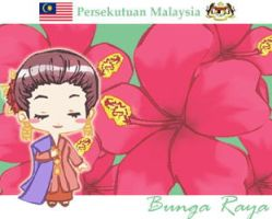Flower of Malaysia by refudger