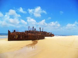 The Wreck of the Maheno by Tiberius47