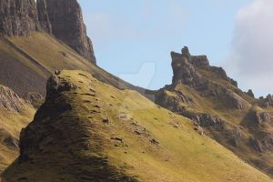 The Quiraing - Sneak Peek Stock by devils-horizon