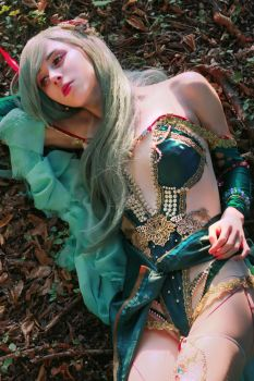 Rydia - the after years cosplay by Cecinee