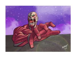 Colossal Titan by don-stam