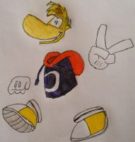 Rayman- Our Limbless Wonder by Guardian-of-Legends