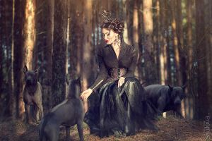 In the Forest by LienSkullova