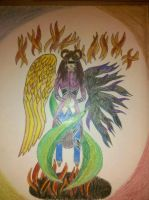 Angel of Good and Chaos by UndeadDream