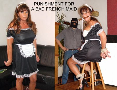 Before and After - bad french maid by Freakondo
