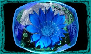 Blue Spherical by mickeyrony