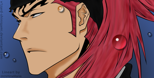 Bleach 465:Renji color by v1zard-shinigami