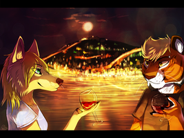 precious wine. by Suzamuri