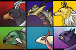 My Pokemon Team by Ingrissi