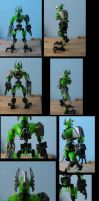 bionicle: techrus update + techa-knight elite by CASETHEFACE
